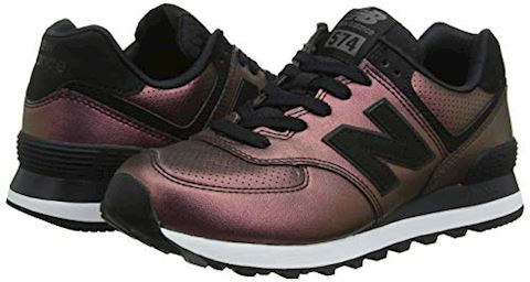 New Balance  WL574  women's Shoes (Trainers) in Black Image 5