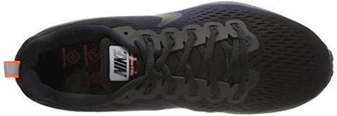 Nike Air Zoom Pegasus 34 Shield Men's Running Shoe - Black Image 14