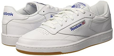 Reebok Classic  CLUB C 85  women's Shoes (Trainers) in white Image 12