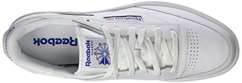 Reebok Classic  CLUB C 85  women's Shoes (Trainers) in white Image 7