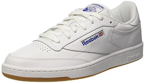Reebok Classic  CLUB C 85  women's Shoes (Trainers) in white Image 8