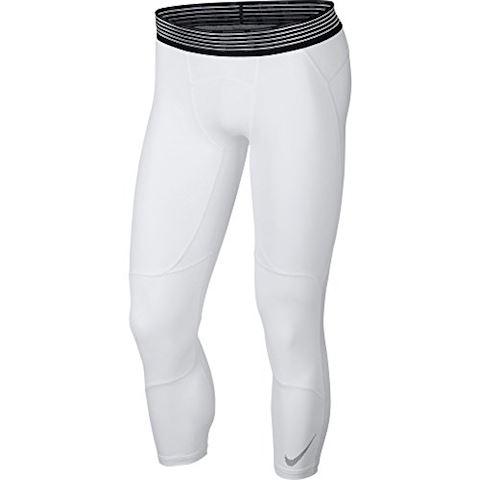 0e3a6b0881 Nike Pro HyperCool Men's 3/4 Basketball Tights - White | 891835-100 ...