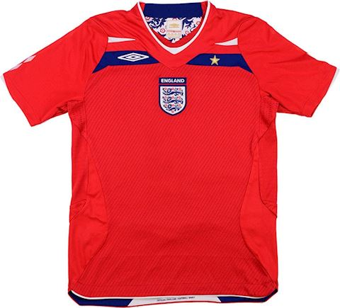 Umbro England Kids SS Away Shirt 2008 Image