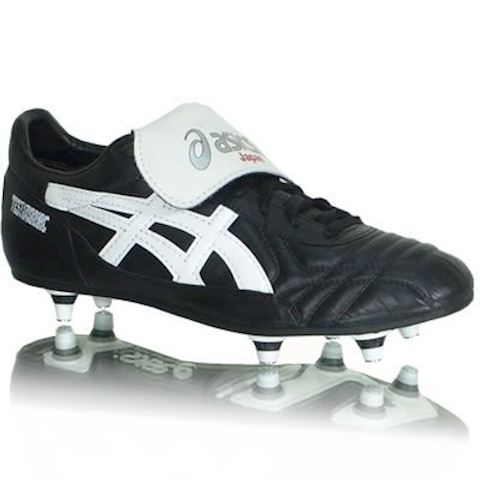 6b55dd8a1 Asics Testimonial Light SG Black White | SLP346-9001 | FOOTY.COM