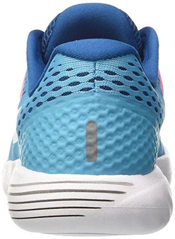 Nike LunarGlide 8 Women's Running Shoe - Blue Image 2