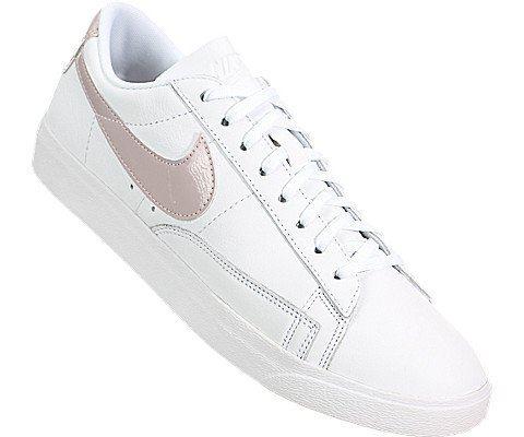 Nike Blazer Low LE Women's Shoe - White Image 5
