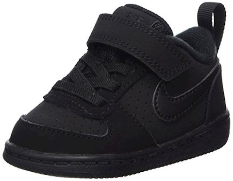 NikeCourt Borough Low Baby& Toddler Shoe - Black Image