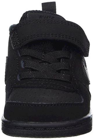 NikeCourt Borough Low Baby& Toddler Shoe - Black Image 4