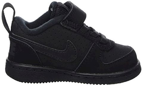 NikeCourt Borough Low Baby& Toddler Shoe - Black Image 5