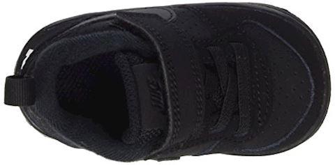 NikeCourt Borough Low Baby& Toddler Shoe - Black Image 6