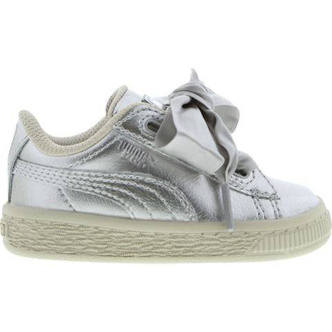 cheap for discount 884a1 bdaf7 Puma Basket Heart Metallic Pack - Baby Shoes