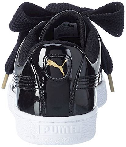 Puma Basket Heart Patent Women's Trainers Image 2