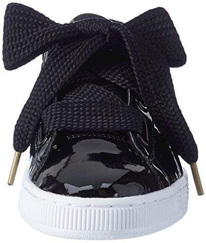 Puma Basket Heart Patent Women's Trainers Image 4