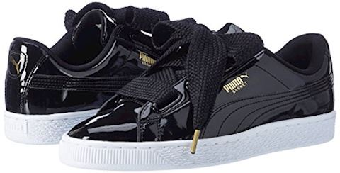 Puma Basket Heart Patent Women's Trainers Image 5