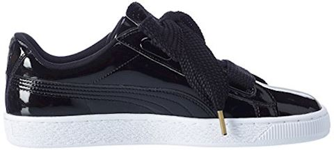 Puma Basket Heart Patent Women's Trainers Image 6