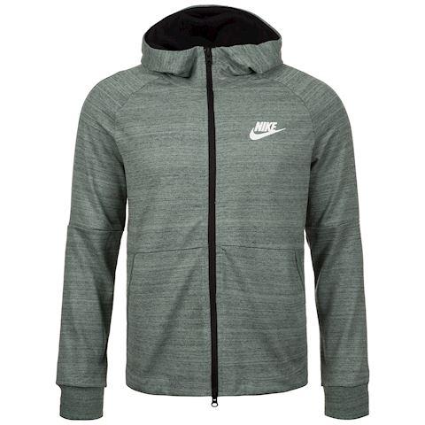 Nike Sportswear Advance 15 Men's Full-Zip Hoodie - Grey Image