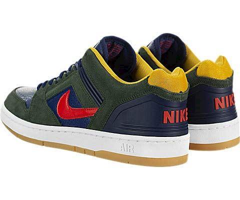 Nike SB Air Force II, Green Image 4