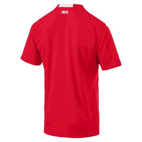 Puma Switzerland Mens SS Home Shirt 2018 Image 2