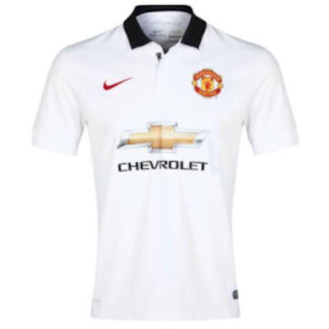 Nike Manchester United Kids SS Away Shirt 2014/15 Image