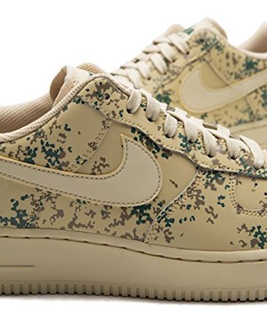 Nike Air Force 1' 07 Low Camo Men's Shoe - Gold Image 5