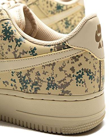 Nike Air Force 1' 07 Low Camo Men's Shoe - Gold Image 6