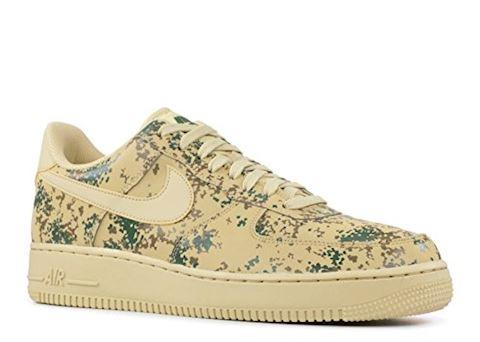Nike Air Force 1' 07 Low Camo Men's Shoe - Gold Image 7