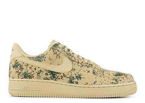 Nike Air Force 1' 07 Low Camo Men's Shoe - Gold Image 8