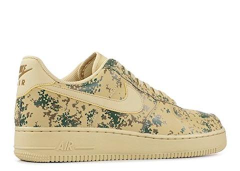Nike Air Force 1' 07 Low Camo Men's Shoe - Gold Image 9