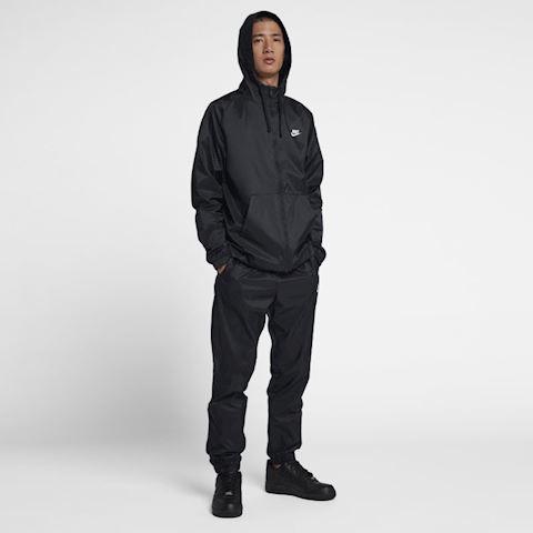 bc0247e6b Nike Sportswear Men s Hooded Woven Tracksuit - Black Image
