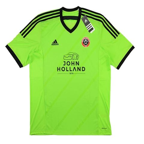 adidas Sheffield United Mens SS Away Shirt 2015/16 Image