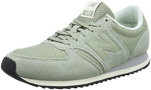 New Balance  WL420  women's Shoes (Trainers) in Green Image