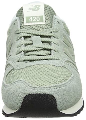 New Balance  WL420  women's Shoes (Trainers) in Green Image 4