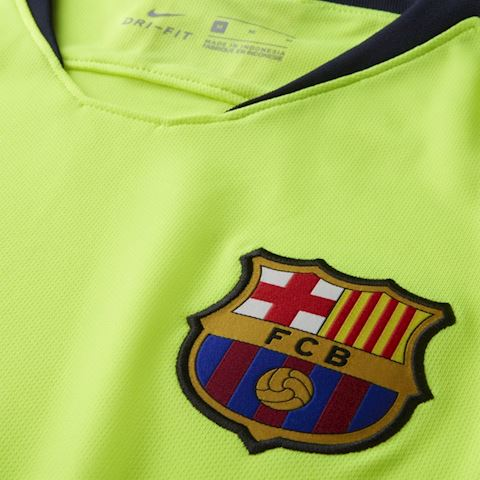 Nike Barcelona Mens SS Away Shirt 2018/19 Image 3