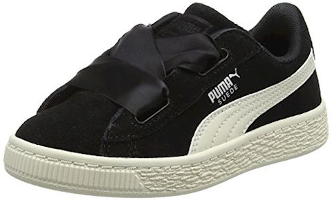 premium selection d0b78 7a75b Puma Suede Heart Jewel Baby Trainers