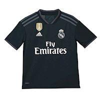 8ef23327300 adidas Real Madrid Kids SS Away Shirt 2018 19