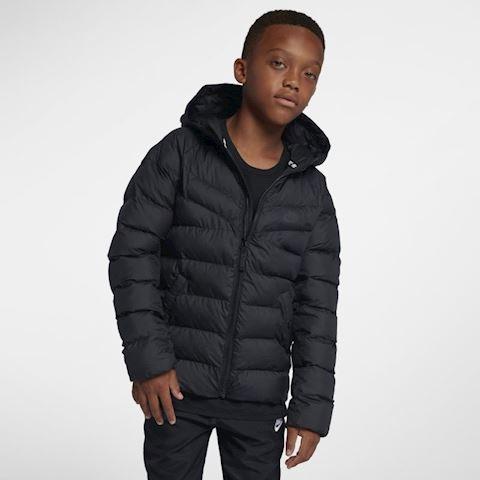 Nike Sportswear Older Kids' Synthetic-Fill Jacket - Black Image