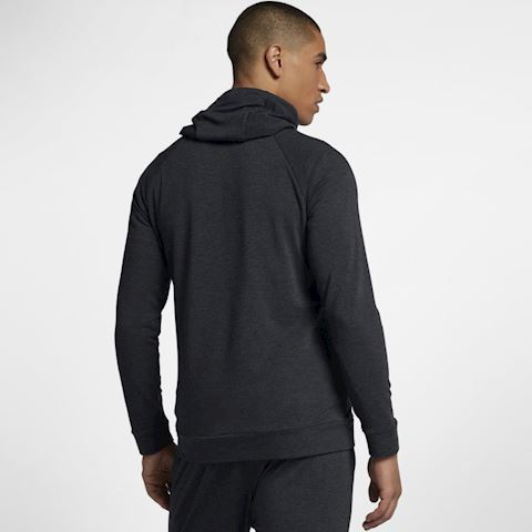 Nike Dri-FIT Men's Full-Zip Training Hoodie - Black Image 5