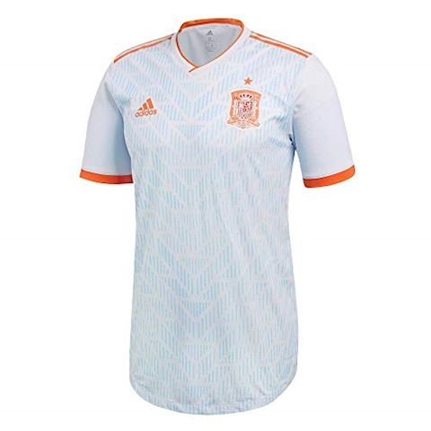 adidas Spain Mens SS Player Issue Away Shirt 2018 Image 3