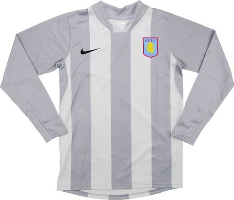 Nike Aston Villa Kids LS Goalkeeper Home Shirt 2007/08 Image