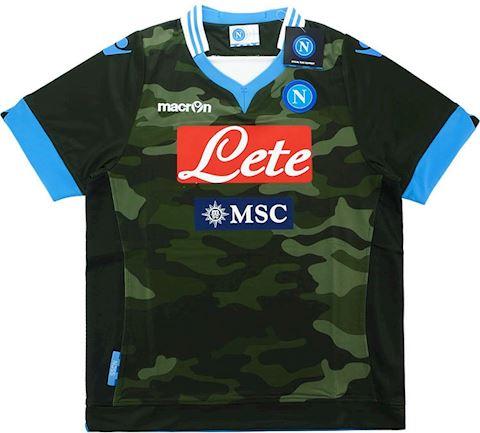 Macron Napoli Kids SS Player Issue Away Shirt 2013/14 Image