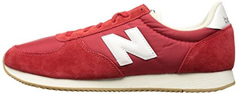 New Balance  U220  women's Shoes (Trainers) in red Image 5