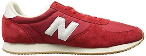 New Balance  U220  women's Shoes (Trainers) in red Image 7
