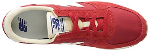 New Balance  U220  women's Shoes (Trainers) in red Image 8