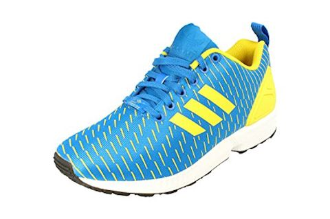cheaper 80983 e1a42 adidas Originals Mens ZX Flux Trainers Royal Blue/Yellow/Royal Blue