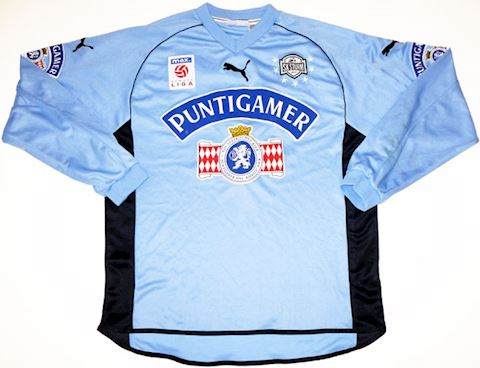 Puma Sturm Graz Mens LS Goalkeeper Home Shirt 2002/03 Image