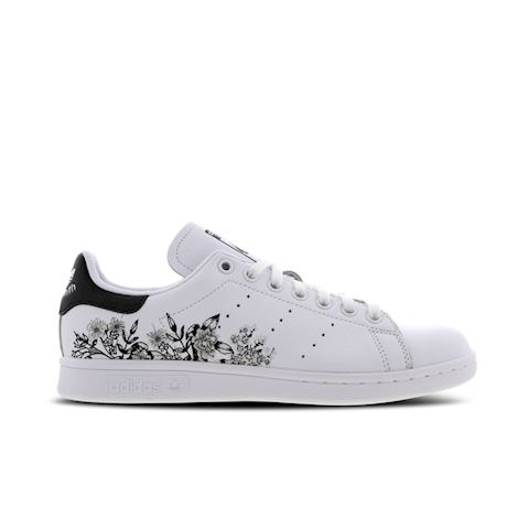 low priced ac3ad ef15d adidas Stan Smith Flower Embroidery - Women Shoes