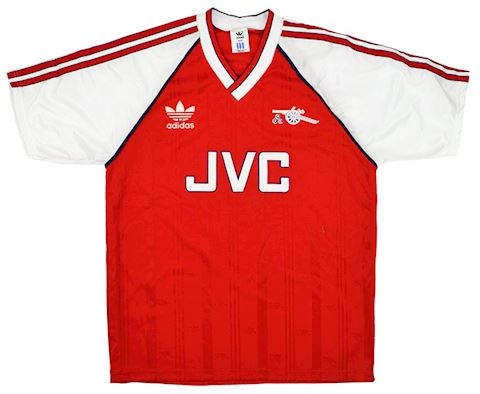 adidas Arsenal Mens SS Home Shirt 1988/90 Image 2