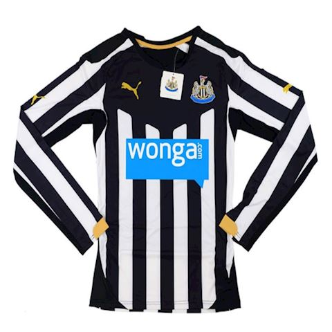Puma Newcastle United Mens LS Player Issue Home Shirt 2014/15 Image