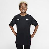 969bdef92 Nike Dri-FIT Mercurial Older Kids' Short-Sleeve Football Top - Black