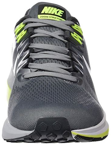 Nike Air Zoom Structure 21 Men's Running Shoe - Grey Image 11